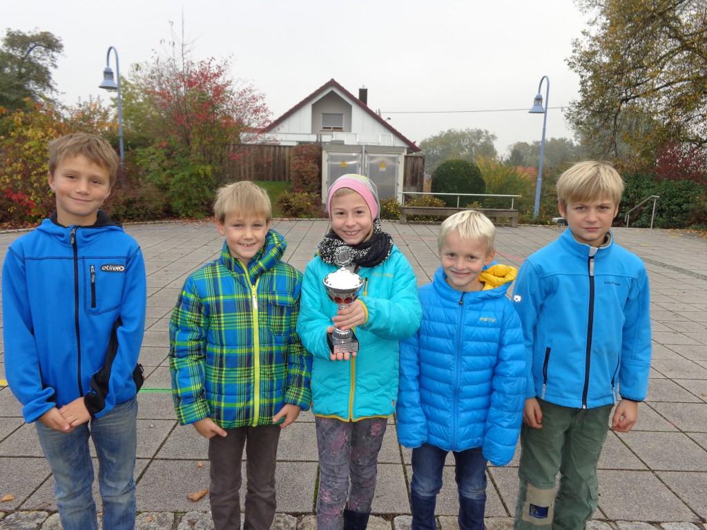 Unsere Klasse 3 hat den Schülerpokal der Laupheimer Drittklässler gewonnen.