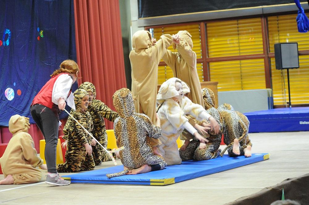 zirkusnummern mit kindern